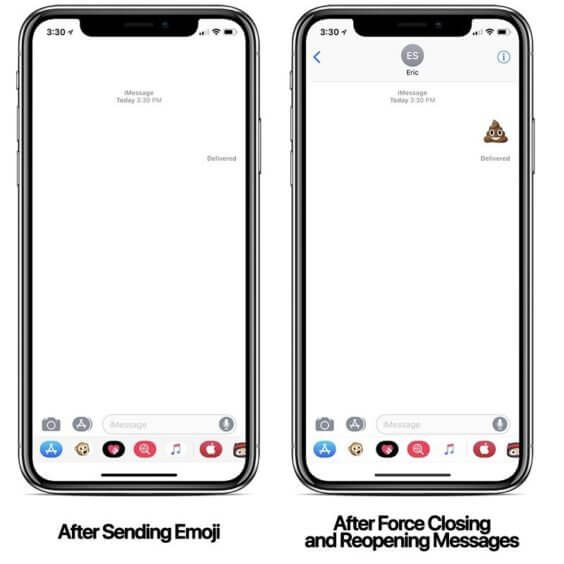 iMessage-Emoji-Bug / MacRumors