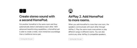 HomePod zunächst ohne AirPlay 2 und MultiRoom