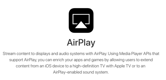 AirPlay | Screenshot Apple/WakeUp Media