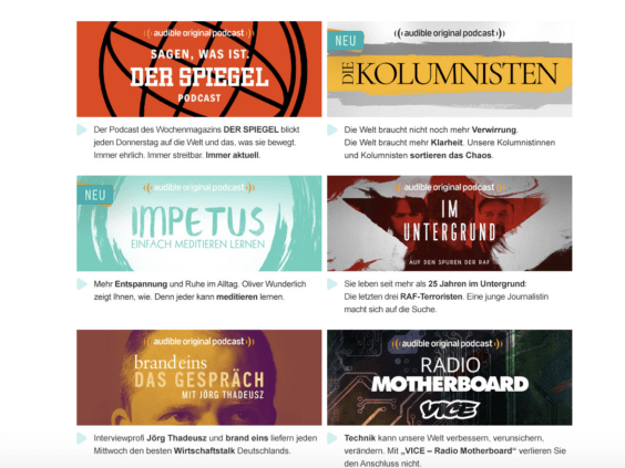 Audible Originals | Screenshot Audible/WakeUp Media