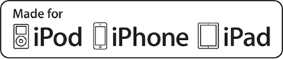 MFi Made for iPod, iPhone, iPad Logo - Thumb