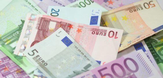 Euroscheine Symbolbild