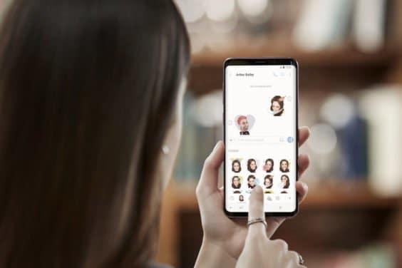 Galaxy S9 AR Emoji - Samsung