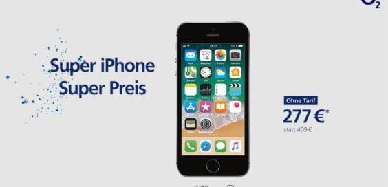 Apple iPhone SE angebot o2 Februar 2018 - thumb
