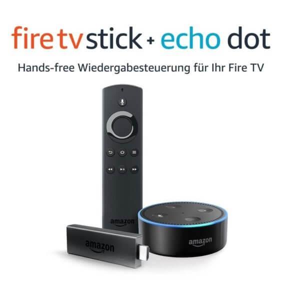 Amazon fire tv stick echo dot bundle thumb