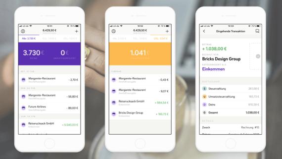 App der Woche Kontist - Produktbilder