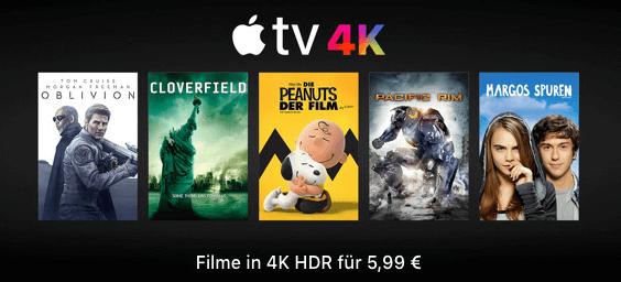 iTunes 4K Filme Aktion Ostern 2018 thumb