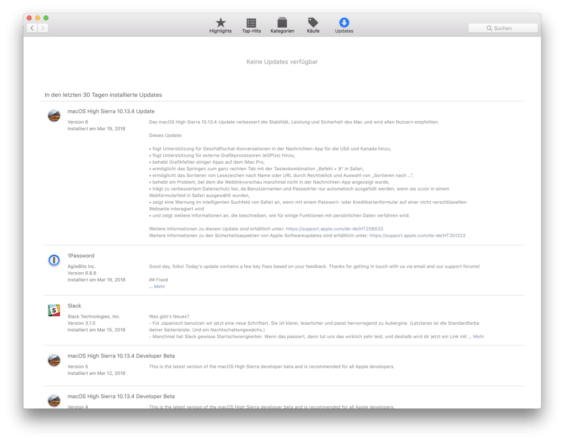 macOS 10.13.4 Release Notes