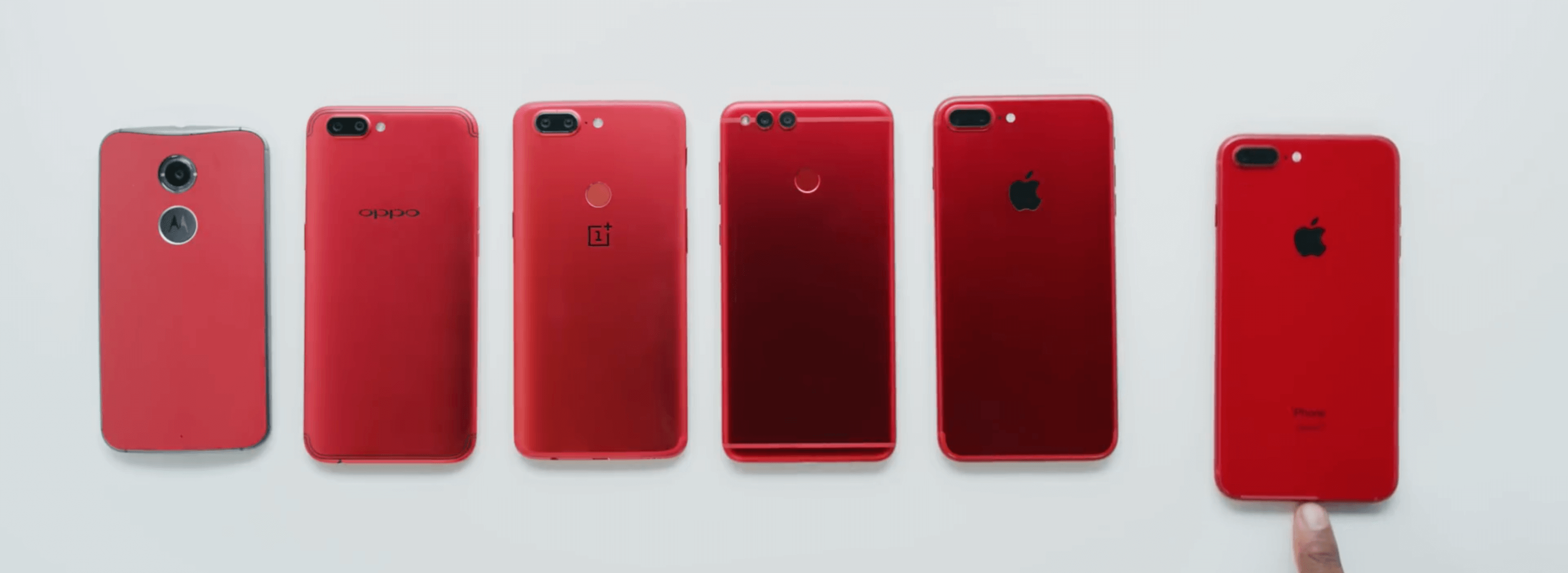 iphone 8 product red unboxing helleres und satteres rot. Black Bedroom Furniture Sets. Home Design Ideas