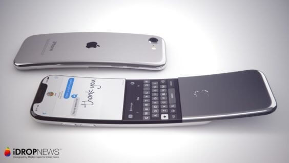 Curved iPhone - Martin Hajek / idrop News