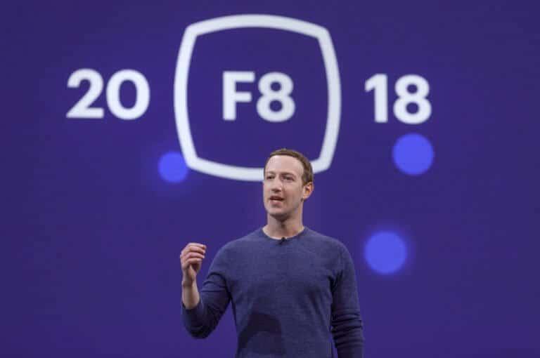 Mark Zuckerberg auf F8 2018 - Facebook