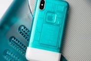 Spigen iPhone X Case iMac Bubble Design thumb