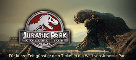 iTunes Angebote Jurassic Park Collection Thumb