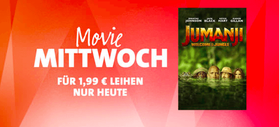 iTunes Movie MIttwoch Jumanji Thumb
