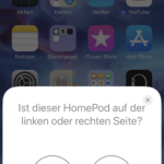 HomePod Stereo-Konfiguration