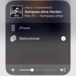 HomePod Stereo-Verwendung Anzeige iOS