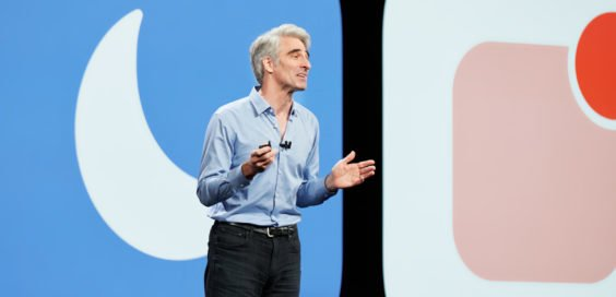 Craig Federighi zeigt iOS 12 WWDC 2018