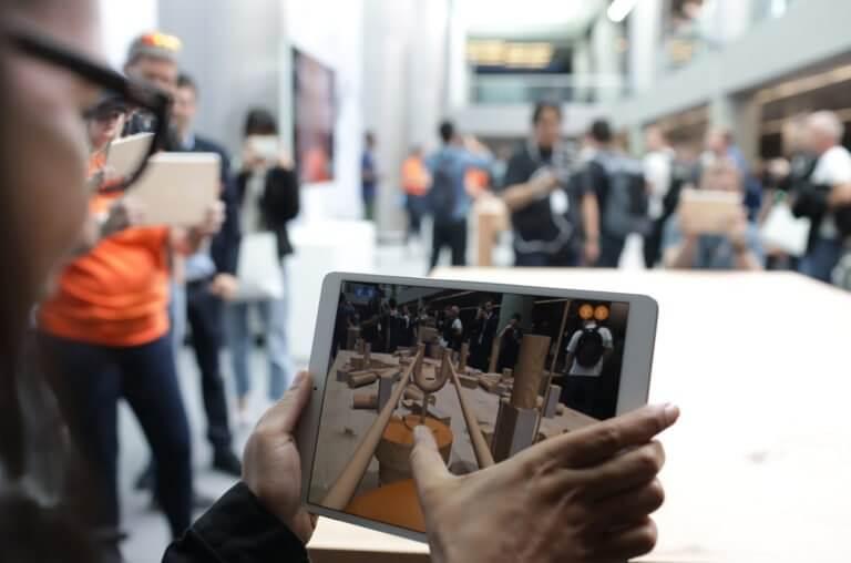 iPad mit ARKit Measure WWDC 2018