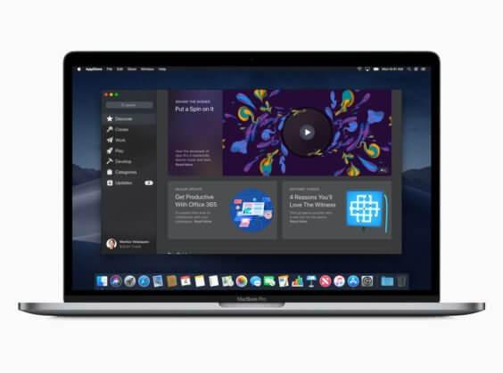 macOS App Store unter macOS Mojave - Apple