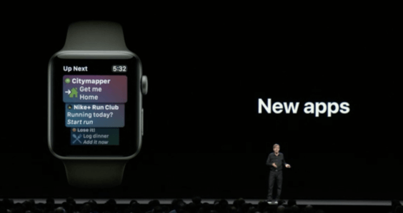watchOS Siri WatchFace - WWDC 2018 - Screenshot