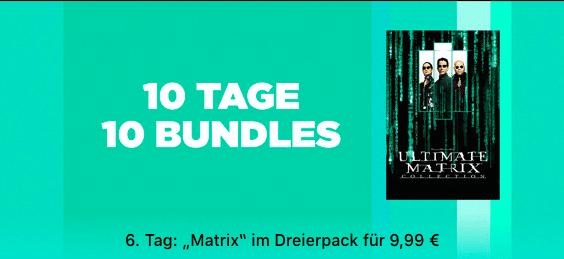 10 Tage, 10 Bundles - Matrix Trilogie - thumb
