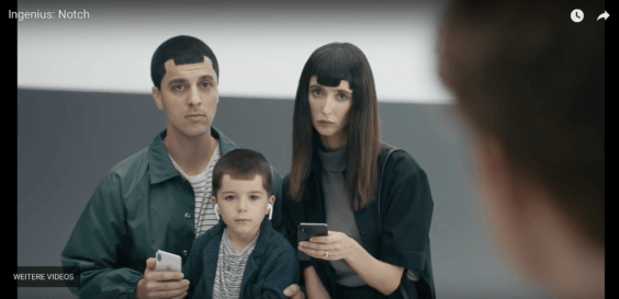 Anti Apple Werbung Samsung Screenshot
