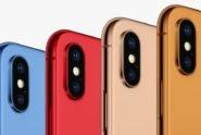 iPhone X 2018 in verschiedenen Farben - iDropNews