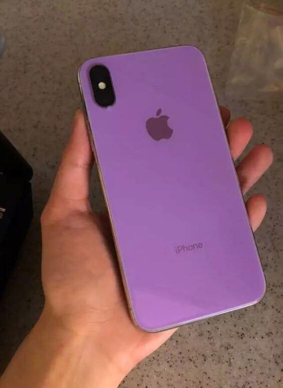 iPhone in Lila - technocodex