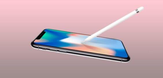 Apple-Pencil-iPhone-X / 9to5Mac