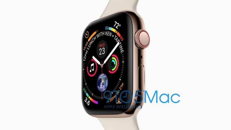 Die Apple Watch Series 4, Quelle: 9to5mac.com