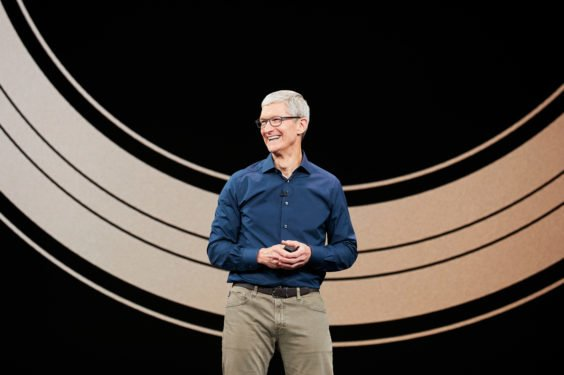 Tim Cook auf September-Keynote 2018 - Apple