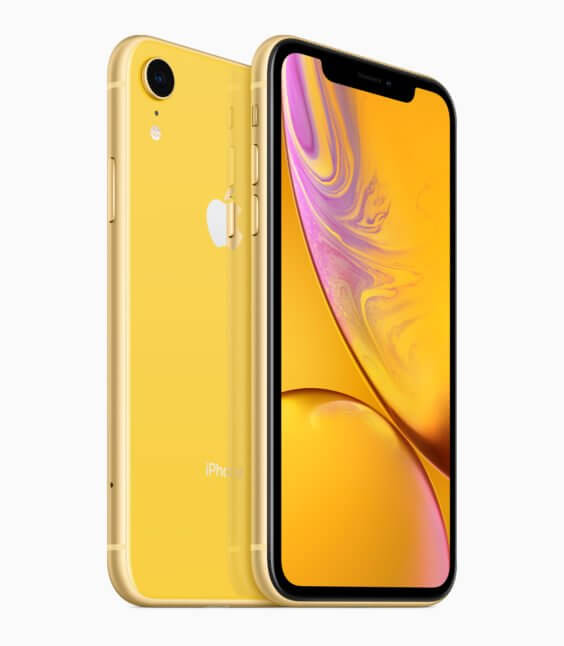 iPhone XR Gelb