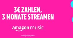 Amazon Music Unlimited für Familien Aktion OKt 2018 thumb