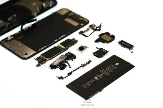 iPhone XR-Teardown - kaputt.de