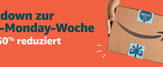 Amazon Countdown Cyber Monday Woche 2018 Thumb