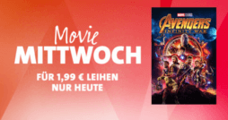 iTunes Movie Mittwoch Avengers Infinity Wars thumb
