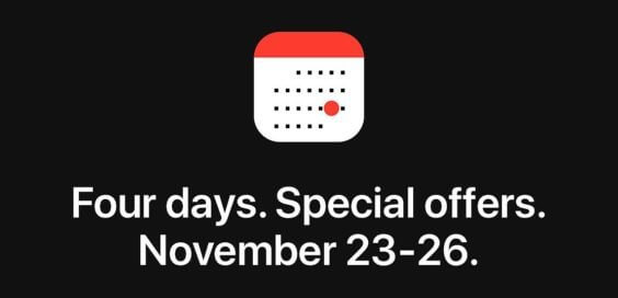 four-day-shopping-event - Apple