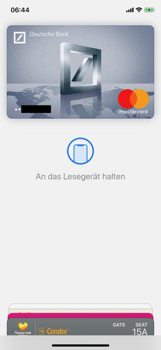 Apple Pay Deutsche Bank