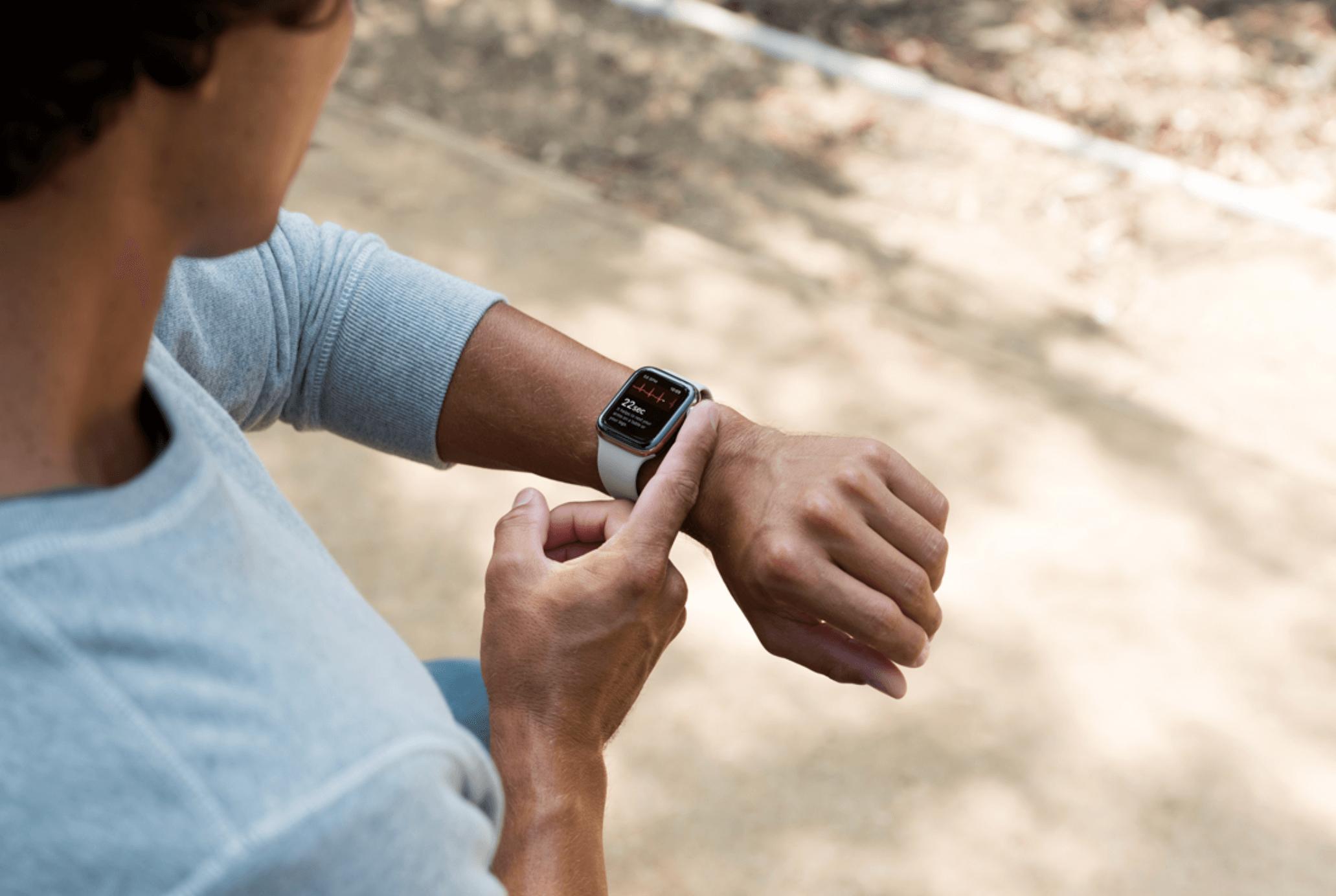 Apple Watch erkennt Vorhofflimmern und rettet Frau das Leben