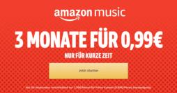 Amazon Music Unlimited 3 Monate für 99 Cent 2018 thumb