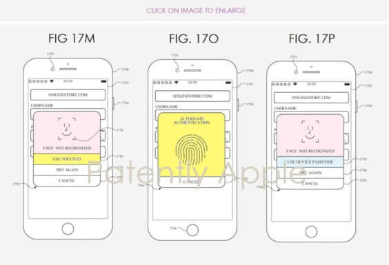 Touch ID und Face ID - Patently Apple