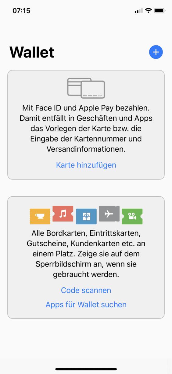 Kartennummer Volksbank Debit.Apfelpage Apple Pay So Richtet Ihr Eine Karte Ein Und So