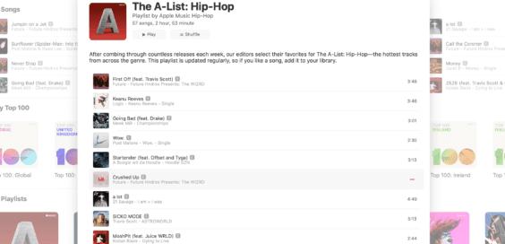 Extrem Schick Apple Music Web Player Musish Geht Online