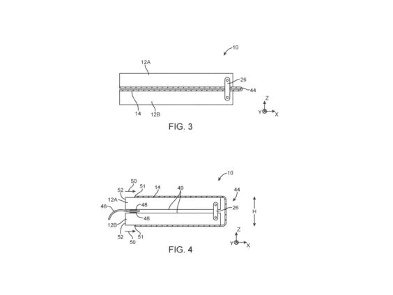 Apple-Patent faltbares Smartphone - US-Patent- und Markenamt