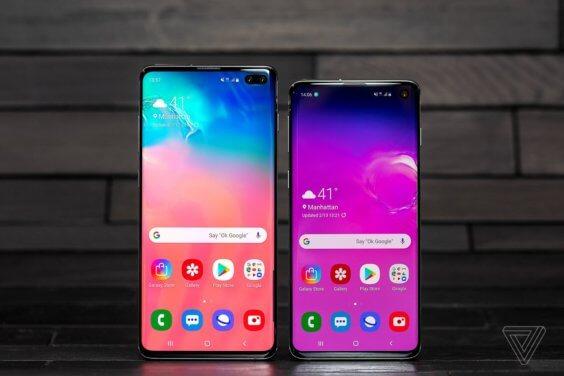 Galaxy S10 und S10+