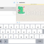 WhatsApp auf dem iPad - WABetaInfo Screenshot