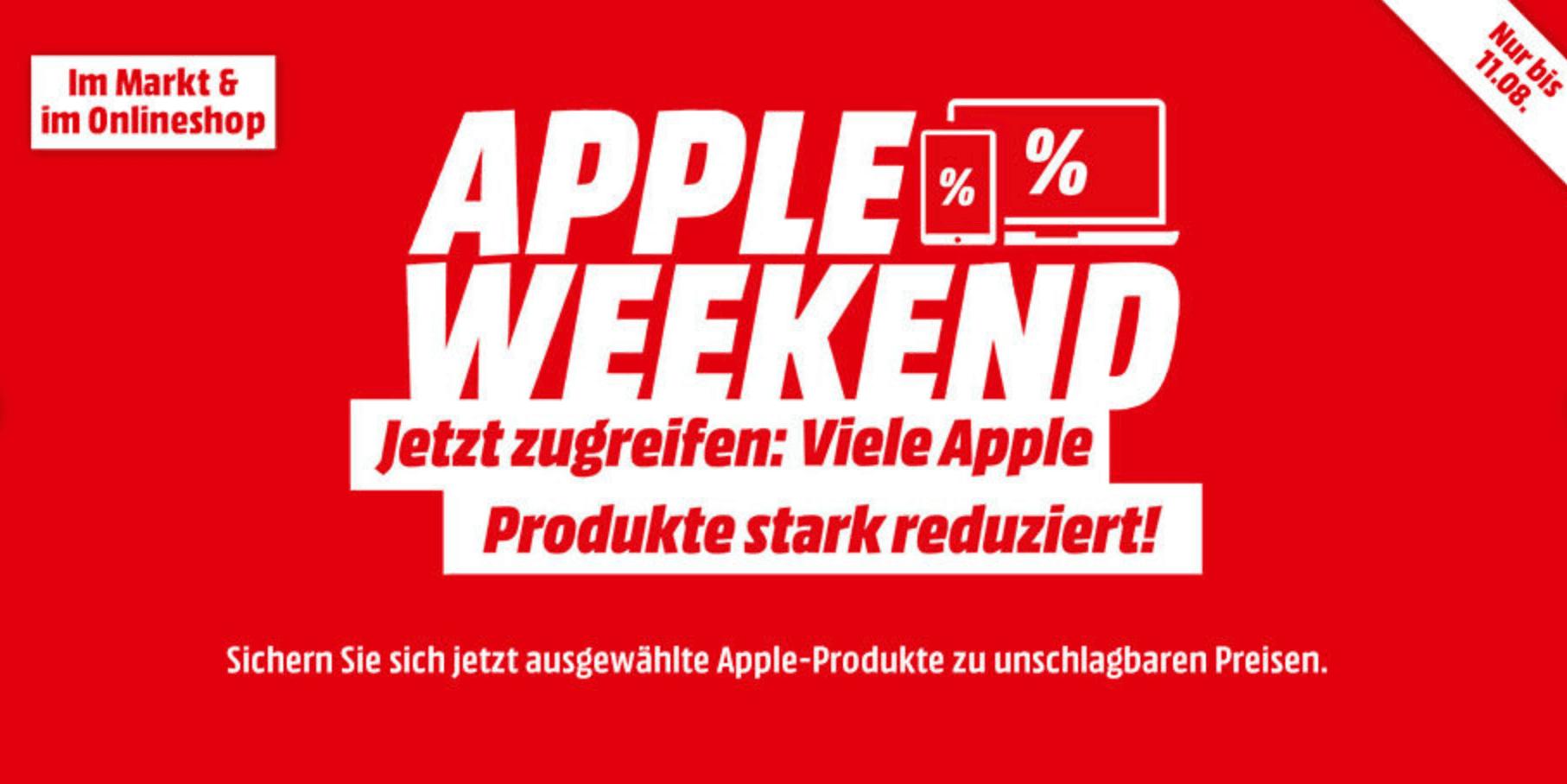 Apple Weekend: iPads, MacBook Air, iMac und Original Zubehör reduziert!