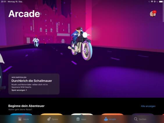 Apple Arcade - Screenshot