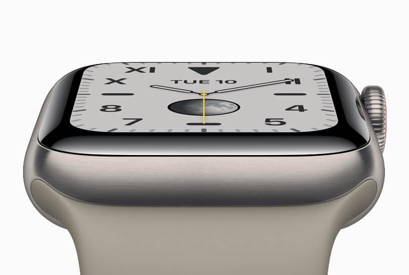 Spannender Ausblick: Apple Watch mit Touch ID in der Krone oder unter dem Display