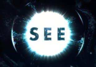 apple tv + see logo